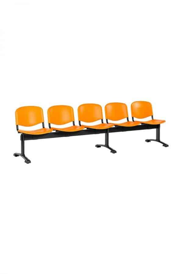 1125 PN narancssárga ívelt talpú váz (